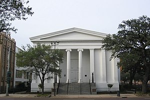 Government Street Presbyterian Church - Government Street Presbyterian Church in 2007.