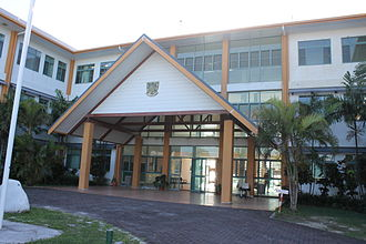 Tuvalu - Government office building