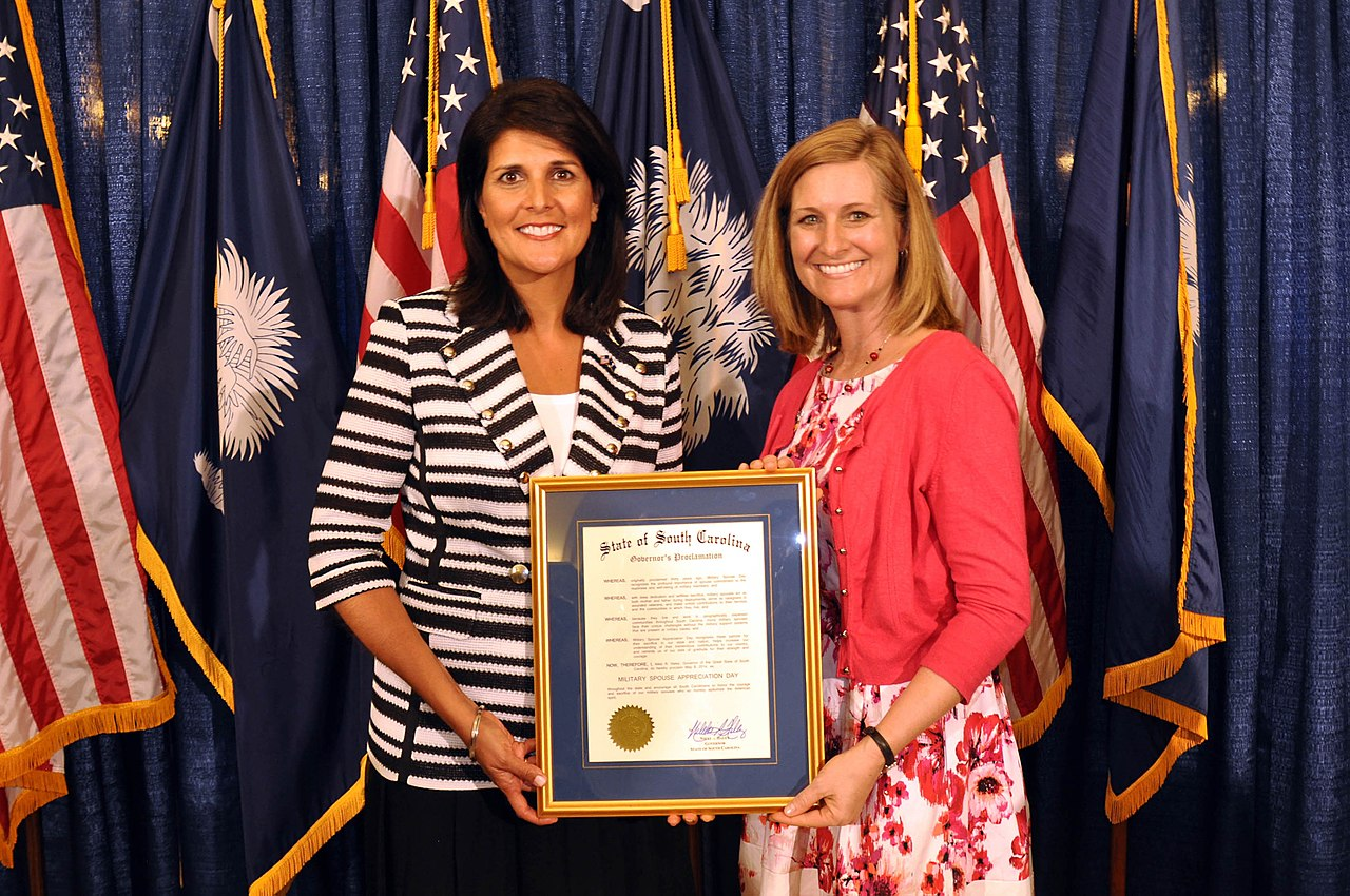 FileGovernor Proclamation Military Spouse Appreciation Day In South Carolina