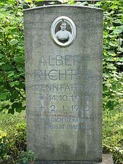 Grabstein Albert Richter