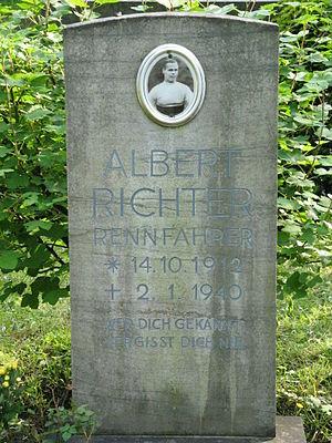 Albert Richter - Albert Richter's tomb