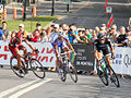 Grand Prix Cycliste de Montréal 2011, Danilo Wyss, Jerome Pineau, JA Flecha (6147042426).jpg
