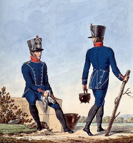 Grande Armée - Light Infantry Chasseurs