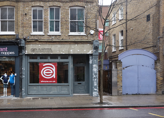 Blair–Brown deal - The empty premises of the former Granita restaurant at 127 Upper Street. Islington, the location where Blair and Brown made the deal. Pictured in early 2013.