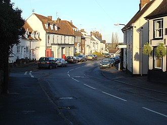 Great Bardfield - Image: Great Bardfield High Street
