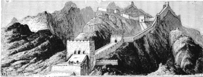Great Wall of China (China's Spiritual Need and Claims, 1887).png