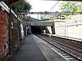 Greenock West railway station, Inverclyde Line, Scotland - view west.jpg