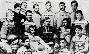 Western Pennsylvania Professional Football Circuit - 1894 Greensburg Athletic Association team.