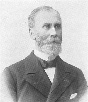 Gregers Gram (1846–1929) - Image: Gregers Gram porträtt