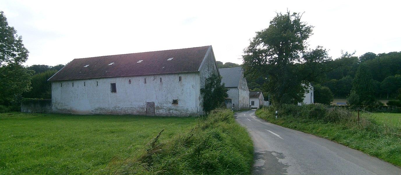 The village of Grentzingen, Luxembourg.