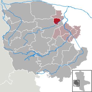 Groß Quenstedt - Image: Groß Quenstedt in HZ