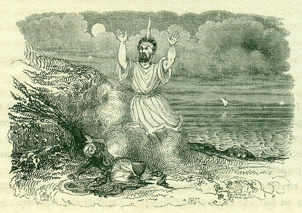 Gross F, 9. Nacht, 1001 Nacht, Bd 1, 1838