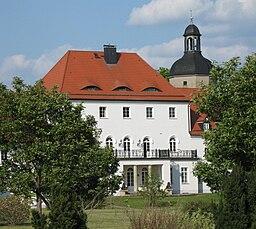 Manor in Großtreben in Saxony, Germany