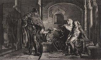 Grzymisława of Luck - Grzymisława and her son