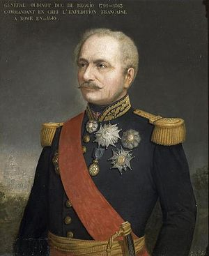 Saint Helena Medal - General Charles Oudinot, a recipient of the Saint Helena Medal