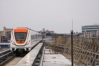 line of the Guangzhou Metro