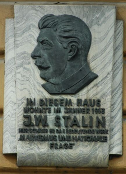 http://upload.wikimedia.org/wikipedia/commons/thumb/e/e2/GuentherZ_Wien12_Gedenktafel_Stalin.jpg/433px-GuentherZ_Wien12_Gedenktafel_Stalin.jpg height=599