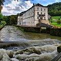 Guillon-les-Bains, le Cusancin devant les anciens Thermes.jpg