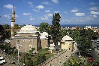 "Gülbahar Hatun (wife of Bayezid II) - The tomb of ""Gülbahar Hatun"" is located inside ""Gülbahar Hatun Mosque"" in Trabzon"
