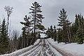 Gunflint Lake Road in Winter Minnesota (40790056451).jpg