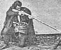 Gurian with a hunting rifle (Esadze, 1913) 13.JPG
