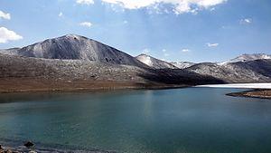 Gurudongmar Lake - Gurudongmar in April