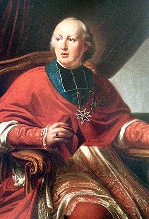 Gustave Maximilien Juste de Croÿ-Solre - Portrait by Hippolyte de Mahy, 1833