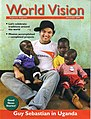 Guy Sebastian on Cover of World Vision Magazine 2005.jpg