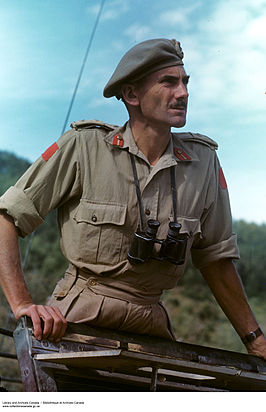 Major General Guy Simonds, 1943