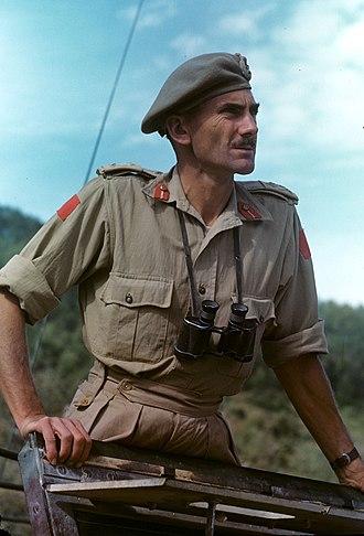 Guy Simonds - Simonds in Italy, 1943.