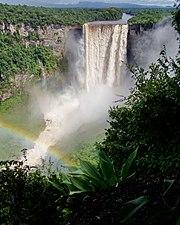 Kaieteur Falls in central Guyana