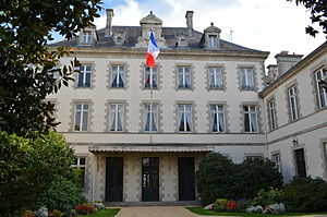 Vendée - Prefecture building of the Vendée department in La Roche-sur-Yon