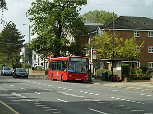 London Sovereign - Alexander Dennis Enviro200 Dart on route H9 in October 2012