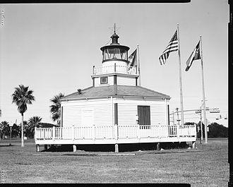 Halfmoon Reef Light - Recent image of the lighthouse in Port Lavaca