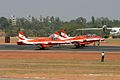 HAL HJT-16 Kiran Indian Air Force ( Surya Kiran Aerobatic Team ) (8413503609).jpg