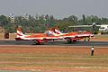 HAL HJT-16 Kiran Indian Air Force ( Surya Kiran Aerobatic Team ) (8413503609).jpg