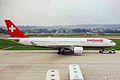 HB-IQA A330-223 Swissair ZRH 28AUG99 (5915371337).jpg