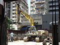 HK 上環 Sheung Wan 蘇杭街 Jervois Street 13 construction site hot summer.JPG