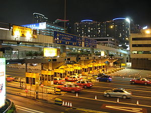 Cross-Harbour Tunnel - Image: HK Cross Harbour Tunnel Night 20070930