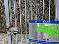HK Wan Chai Park Cross Lane Bullock Lane entrance rock iron gate sign Aug-2015 DSC.JPG