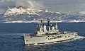 HMS Ark Royal Operating off Northern Norway during Exercise Armatura Borealis 08 MOD 45147662.jpg