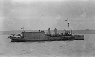 HMS <i>Engadine</i> (1911) 1911 merchant steamship temporarily converted into a seaplane carrier during World War I