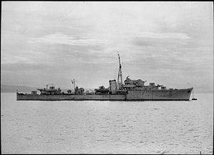Denis Glover - HMS Onslaught