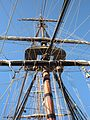 HMS Surprise (replica ship) mast 3.JPG