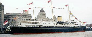museum ship, former royal yacht of the British monarch