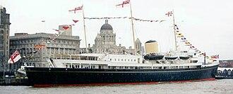 HMY Britannia - Image: HMY Britannia