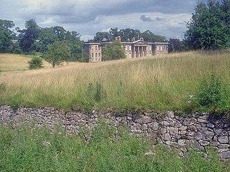 Calke Abbey - Image: Ha ha at Calke Abbey geograph.org.uk 1428143