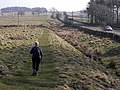 Hadrian's Wall National Trail near Greenfield - geograph.org.uk - 1210846.jpg