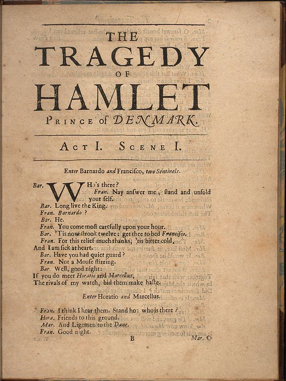 hamlet by william shakespeare analysis William shakespeare: hamlet literature insights ser humanities-ebooks, 2007 isbn 1-84760-028-x maccary, w thomas 1998 hamlet: a guide to the play.