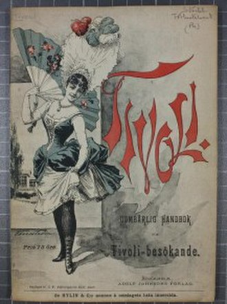 1891 in Sweden - Handbok Stockholms Tivoli 1891